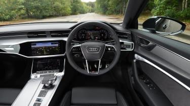 Audi A6 saloon interior