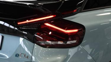 2021 Citroen e-C4 - rear lights close-up