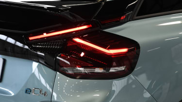 2021 Citroen e-C4 - rear lights close-up