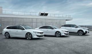 Peugeot 508 and 3008 hybrid models