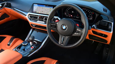BMW M4 Coupe interior