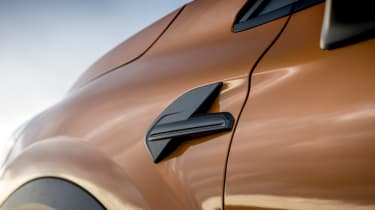 Renault Captur SUV wheel arches