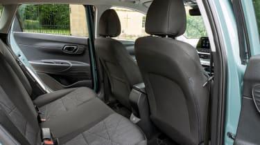 Hyundai Bayon SUV rear seats