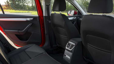 Those in the rear are unlikely to feel cramped, either – there's more space inside than a Ford Mondeo or Mazda6