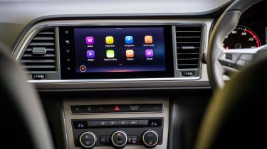 SEAT Ateca SUV infotainment display