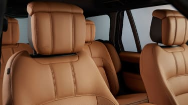 Range Rover Fifty seat detail
