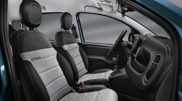 2020 Fiat Panda Cross - interior