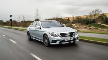 The S500e is a plug-in hybrid, powered by a 2.9-litre six-cylinder petrol and an electric motor