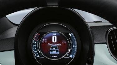 Fiat 500 mild hybrid dial