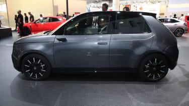 Honda e production version - side view at Frankfurt