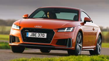 Audi TT Coupe front action