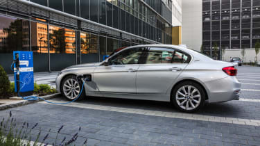 BMW is making a pitch for company-car sales with the ultra-efficient 330e plug-in hybrid