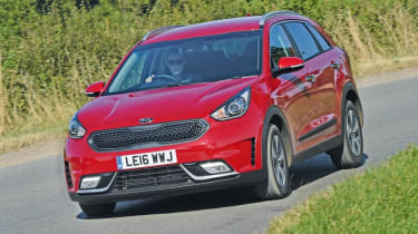 The Kia Niro is something a little different, with the hybrid engine appeal of a Toyota Prius