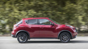 The Juke is aimed at the family market, so its five-star safety rating from Euro NCAP is a big selling point.