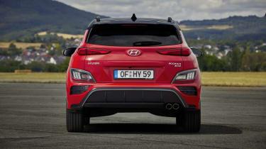 2020 Hyundai Kona N Line - rear view static