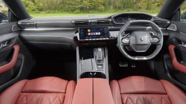 Peugeot 508 SW interior - red