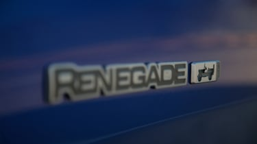 2021 Jeep Renegade 80th Anniversary - badging