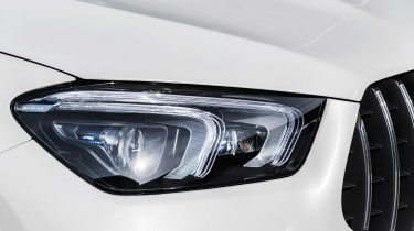2020 Mercedes-AMG GLE 63 S Coupe headlights