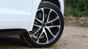 Cupra Ateca SUV - front alloy wheel