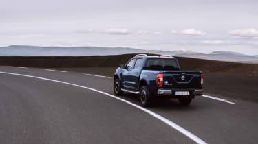 2019 Nissan Navara - rear 3/4 dynamic road