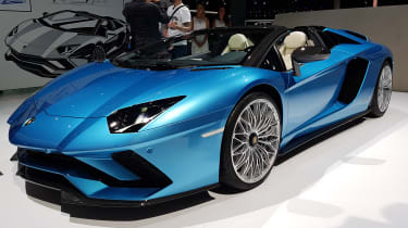 The Aventador S Roadster is as dramatic as a Lamborghini supercar should be