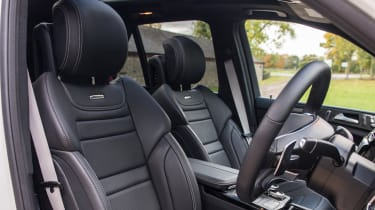 The GLE's interior is beginning to look dated, but it's well made and comfortable