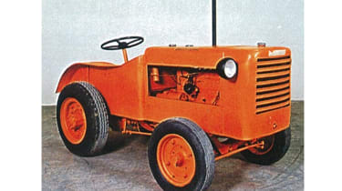 Despite these elevated prices, the Lamborghini story starts with a humble tractor