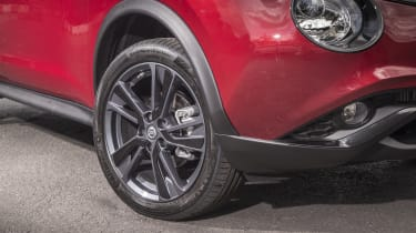 All Juke models come as standard with alloy wheels.