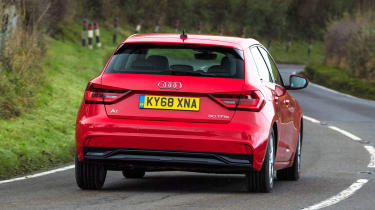 Audi A1 2019 rear tracking 2