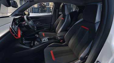 2021 Vauxhall Mokka SRi - interior side view