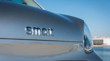 Smart EQ ForTwo hatchback front badge