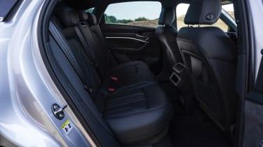Audi e-tron Sportback SUV rear seats