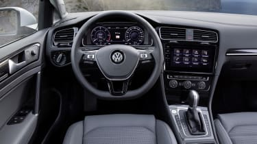 Inside the Golf Estate, it's the same smart, comfortable and high quality story