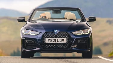 BMW 4 Series Convertible front dynamic