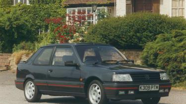 Peugeot 309 GTi front