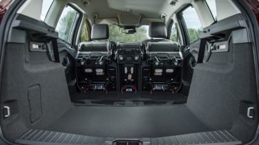For even more space, you can also remove the rear seats, but they are quite heavy