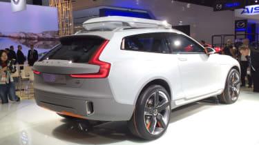 Volvo Concept XC Coupe rear quarter static