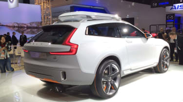 Volvo Concept XC Coupe rear quarter static