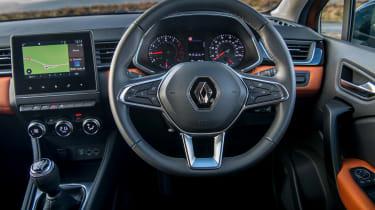 Renault Captur SUV interior