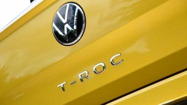 VW T-Roc - badges