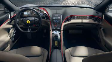 Ferrari Roma coupe interior