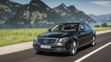 S-Class rivals include the Audi A8, BMW 7 Series, Jaguar XJ and SUVs like the Range Rover LWB