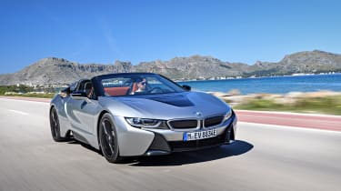 The BMW i8 is one of the most distinctive cars you can buy...