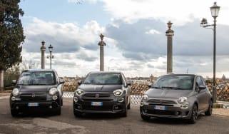 2021 Fiat 500 Sport range