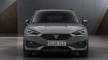 Cupra Leon estate - front view