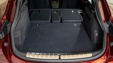 Porsche Taycan Cross Turismo boot seats folded