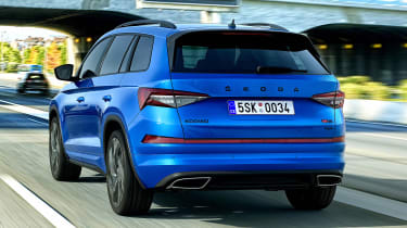 2021 Skoda Kodiaq vRS - rear view