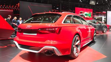 Audi RS6 Avant - Rear 3/4 view at Frankfurt