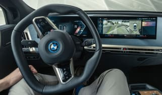 BMW Park Assist in action