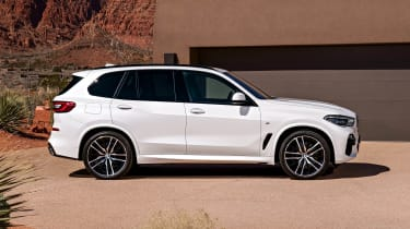 BMW X5 static side
